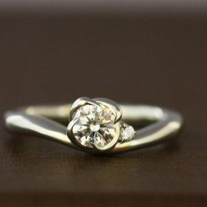 旭川大人かわいいダイヤモンドリング