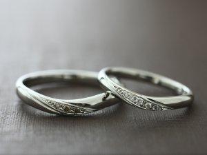 北海道旭川市結婚指輪カスタマイズ(セミオーダー)