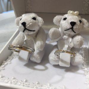プラチナ・ゴールドコンビの結婚指輪