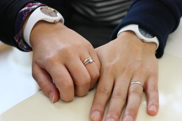 旭川結婚指輪のセミオーダー