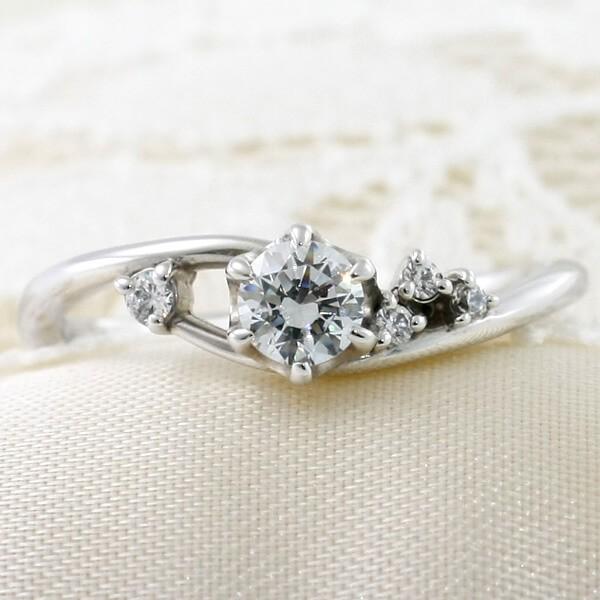 オリジナル婚約指輪―プランタン
