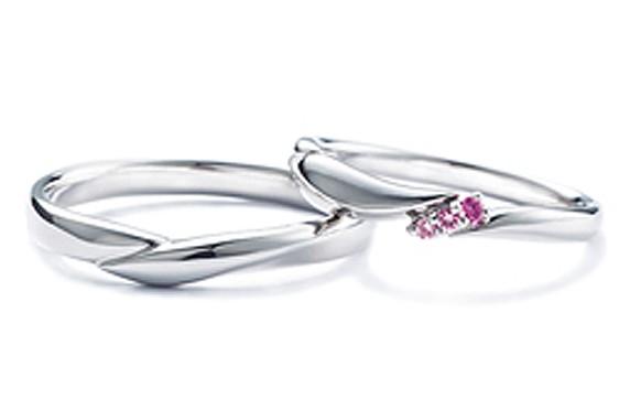 スワロフスキーの結婚指輪『Seraph』セラフィー