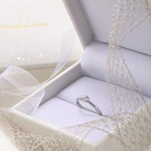 星の砂シリーズはイリジウム配合の婚約指輪