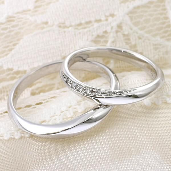 オリジナル結婚指輪ーながれ星
