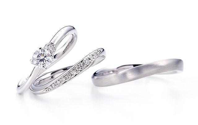 北海道でシンプルな結婚指輪