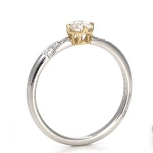 星の砂の婚約指輪_ステラ