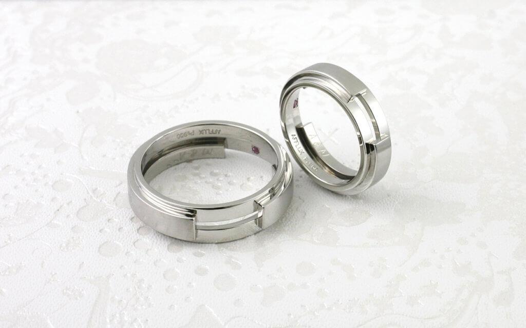 Vogue - アフラックスの結婚指輪