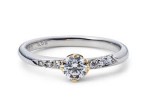 星の砂婚約指輪アリエル