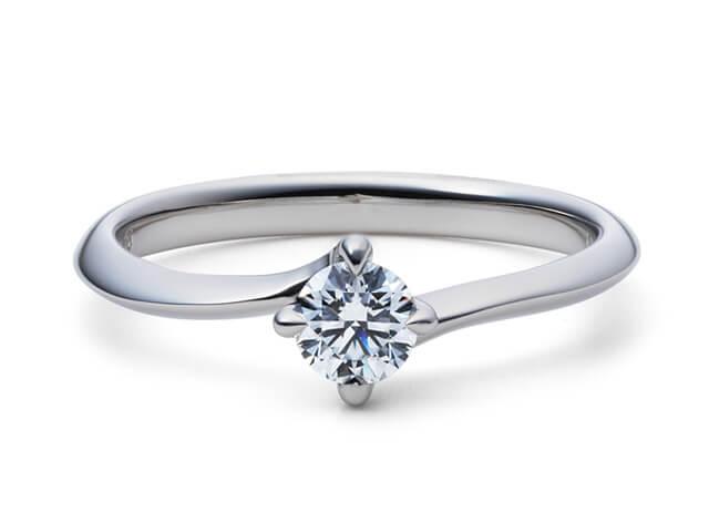 星の砂婚約指輪イリス