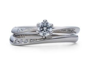 星の砂婚約指輪ジュノー