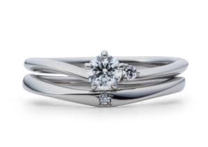 星の砂婚約指輪シリウス