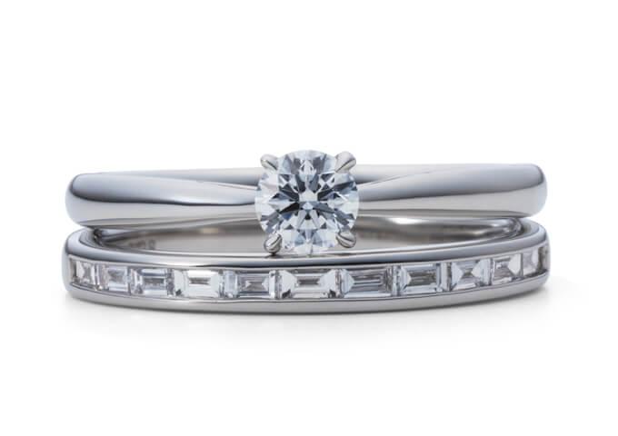 星の砂婚約指輪サザンクロス