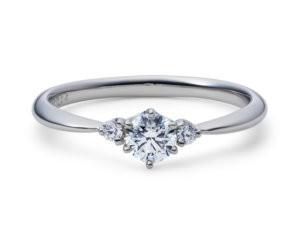 星の砂婚約指輪ヴェスタ