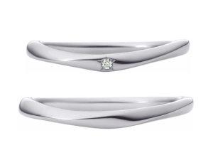 星の砂結婚指輪シリウス