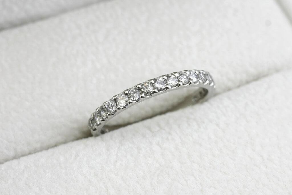 ダイヤモンドリングのジュエリーリメイク