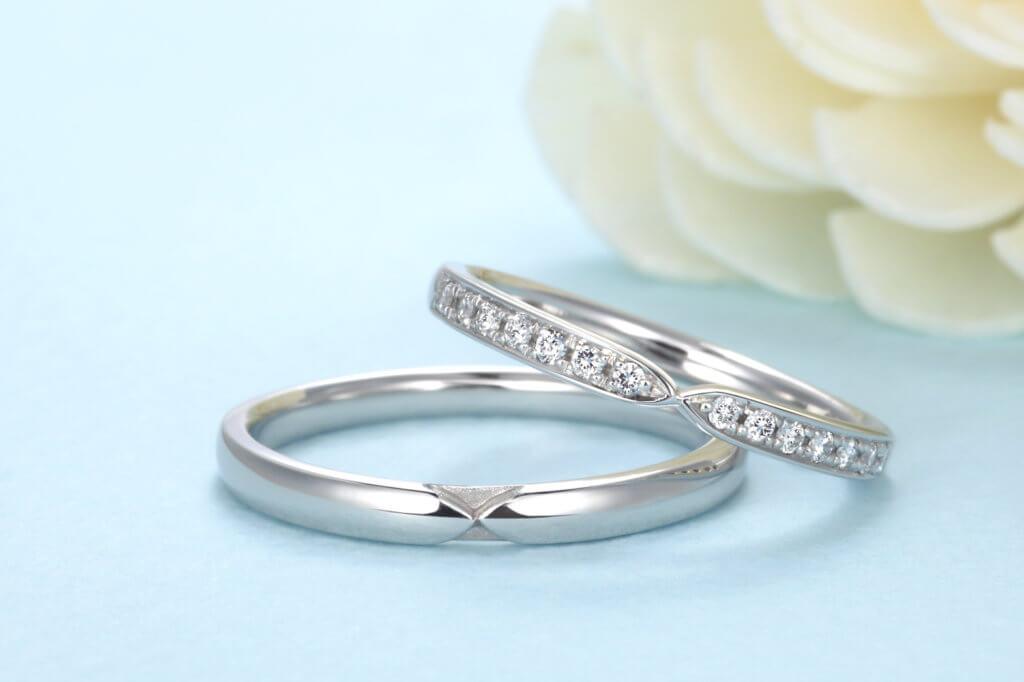星の砂の結婚指輪はパラジウムを使っていないファインプラチナ
