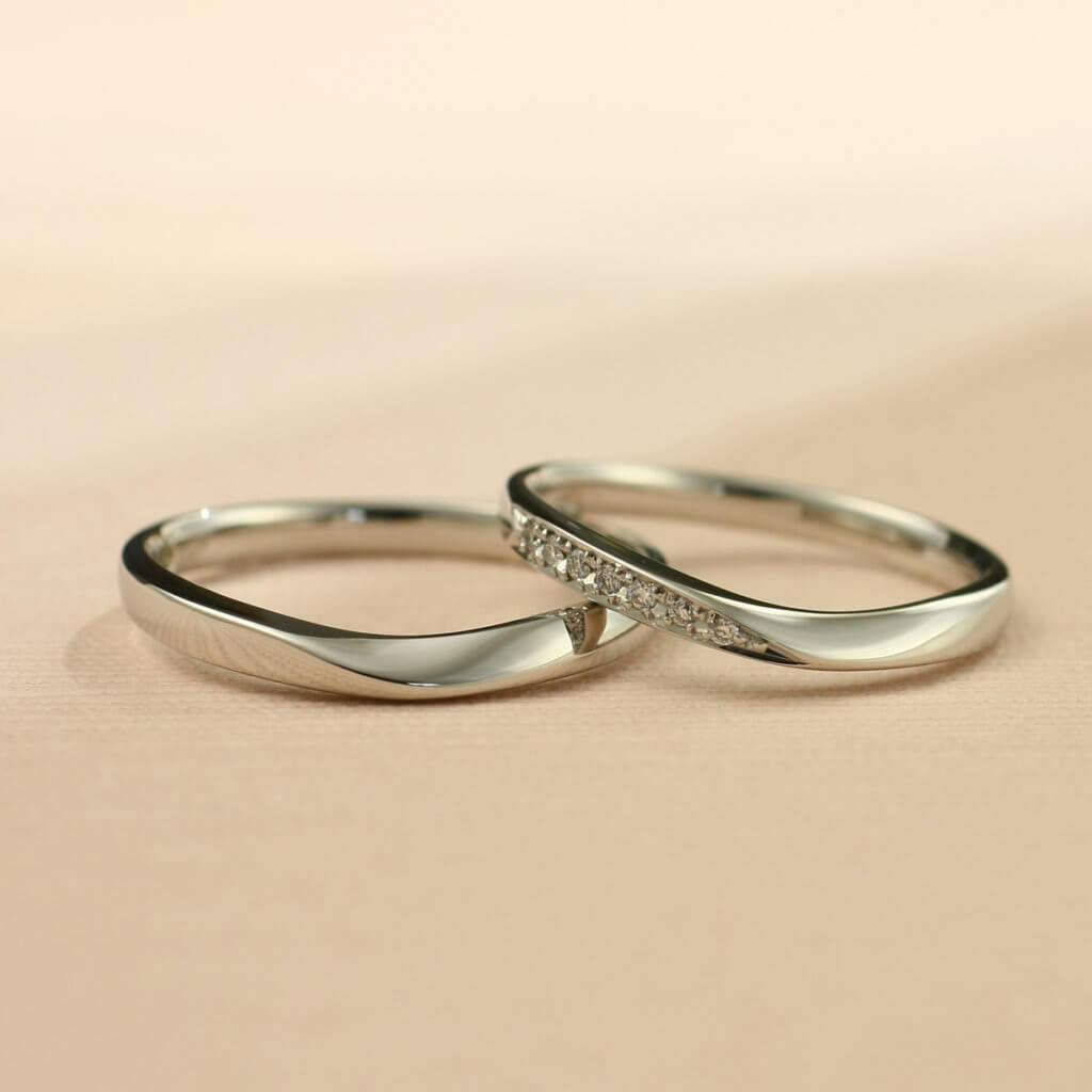 オリジナル結婚指輪陽だまり