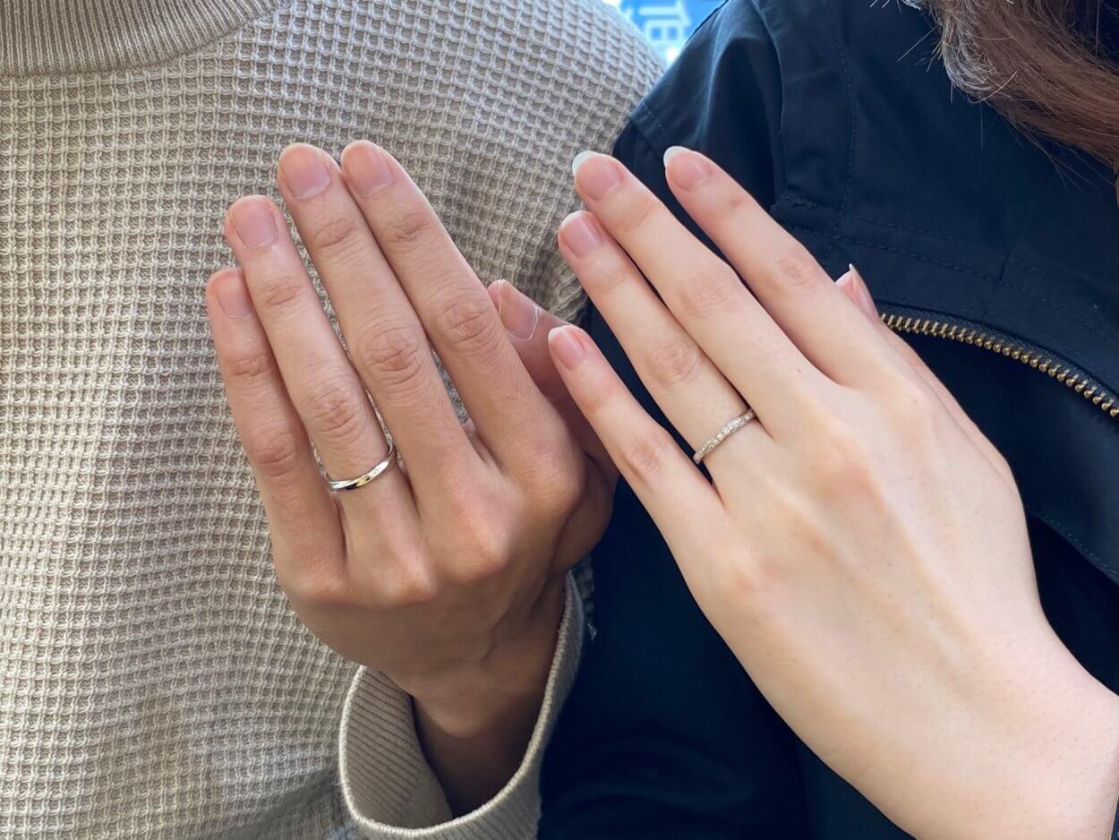 エヴァンスブライダル旭川本店の結婚指輪